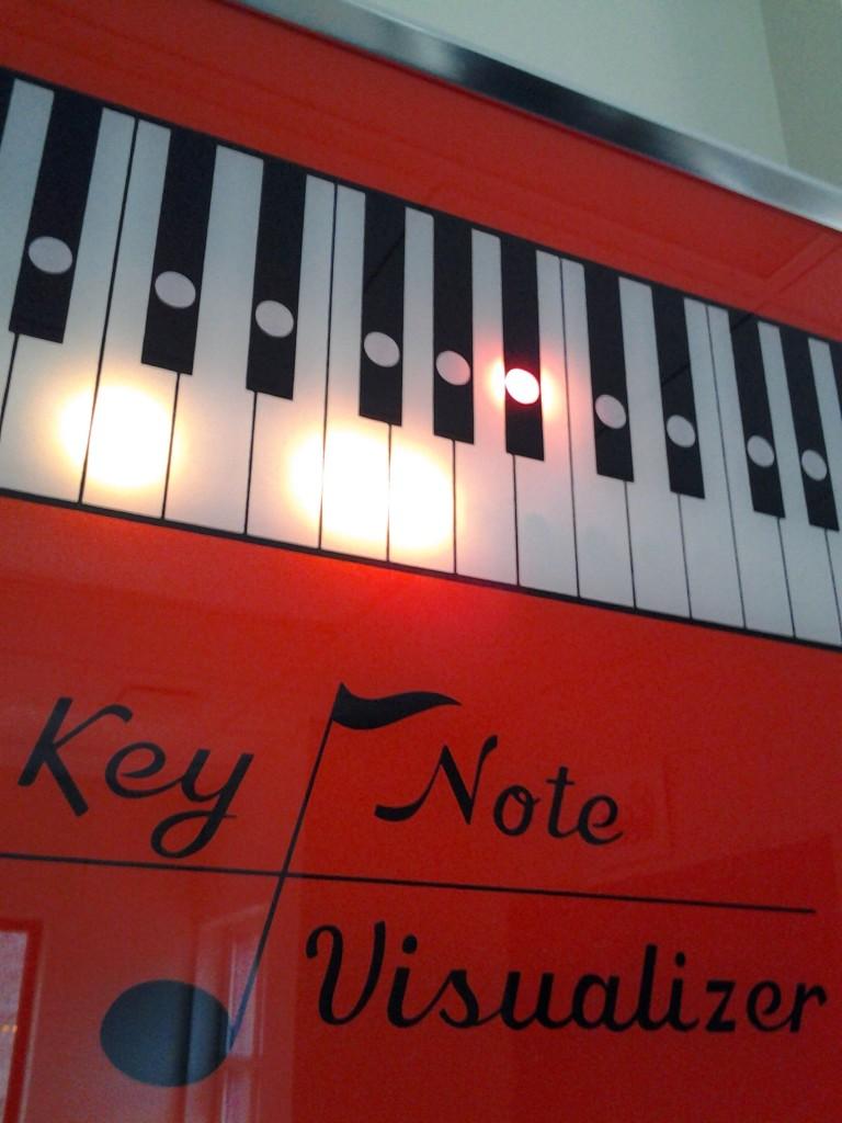 The Wurlitzer Key Note Visualizer