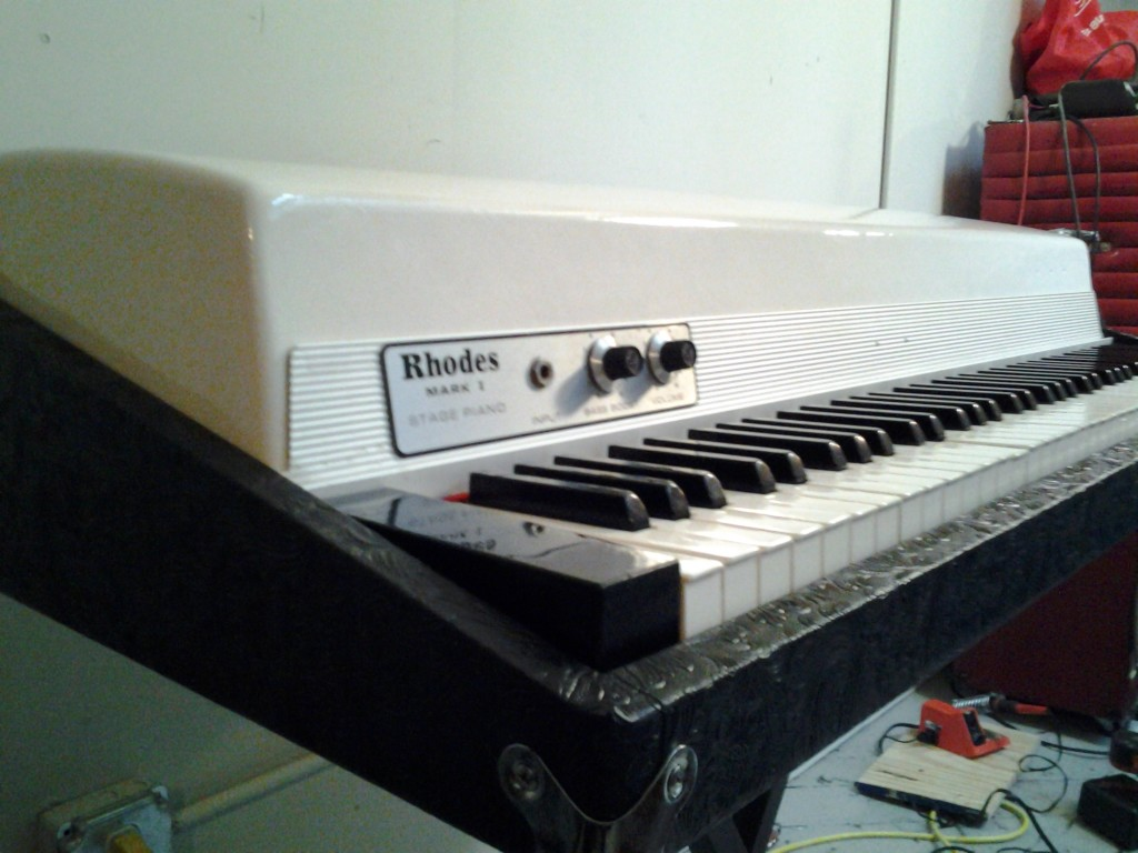 Custom White Rhodes