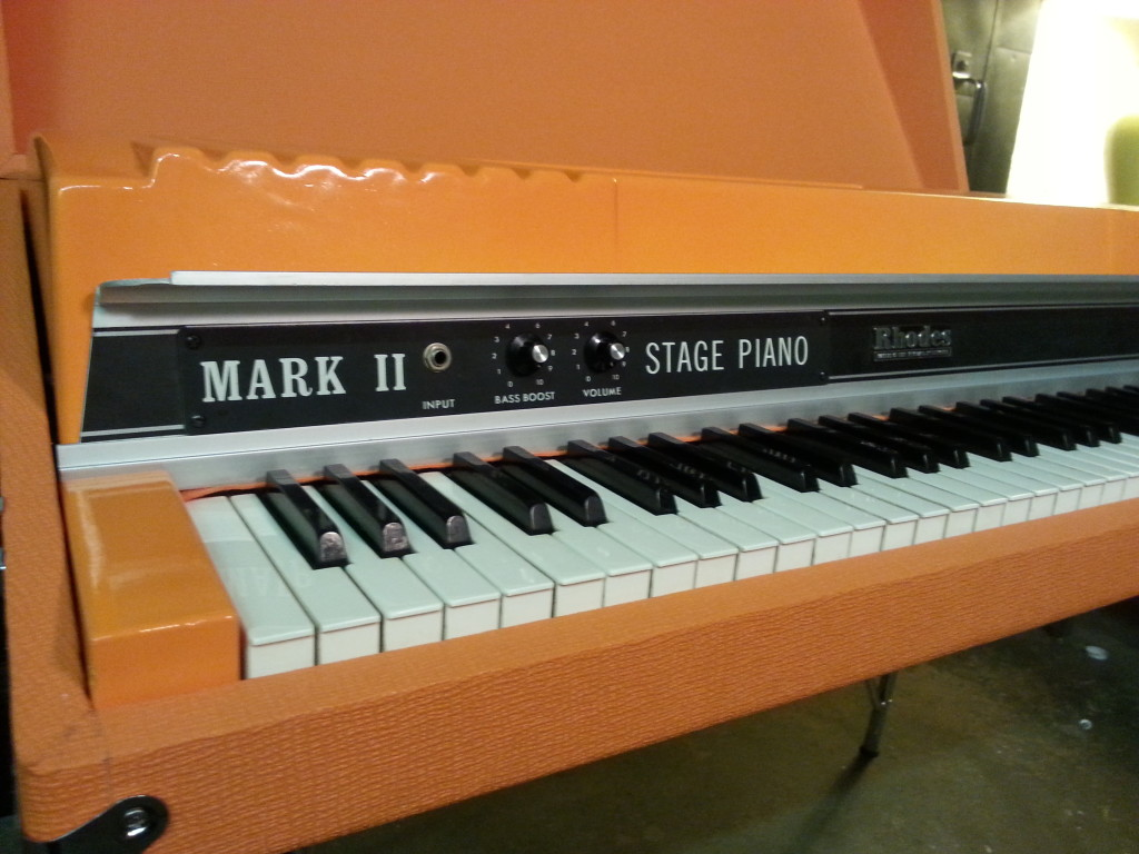 Orange Custom Rhodes Colors