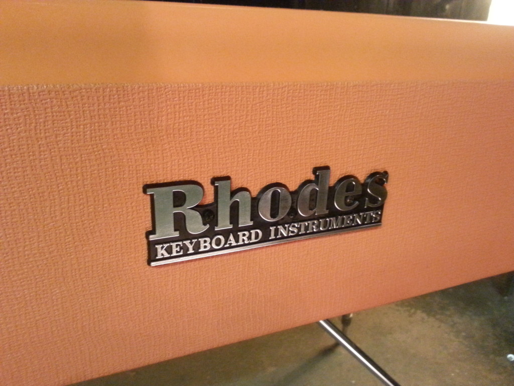 Rhodes Logo Orange Rhodes