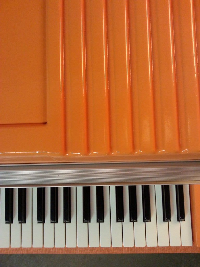 Rhodes Lid in Orange