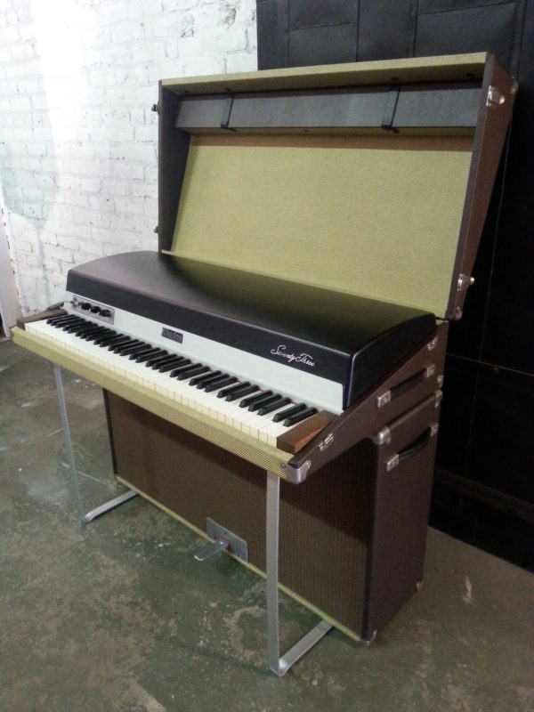 Rhodes Tweed Two Tone Angle