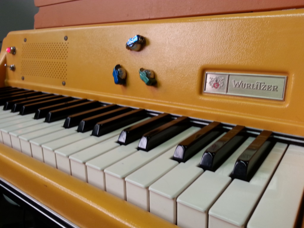 Wurlitzer 106 Orange Front Faceplate