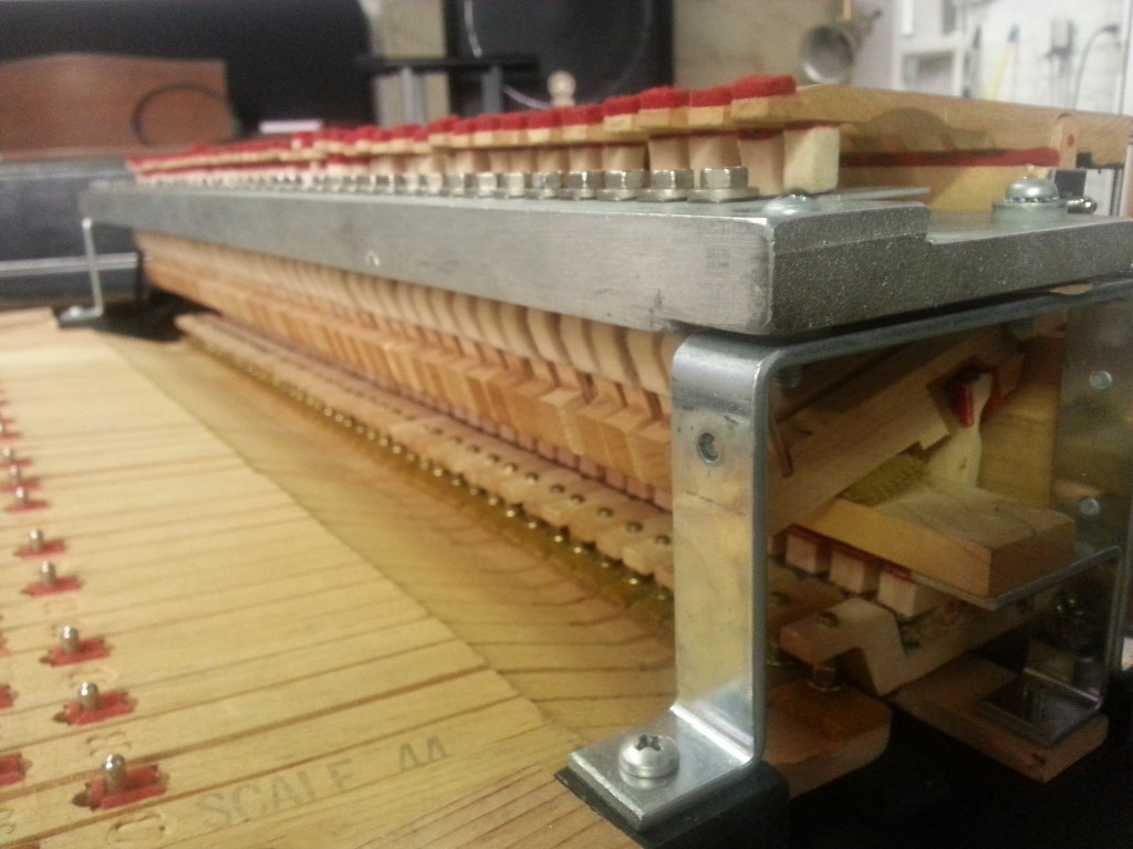 Wurlitzer 106 Reed Bar Angle