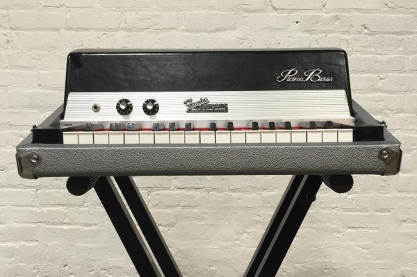 Custom Silver Rhodes Piano Bass