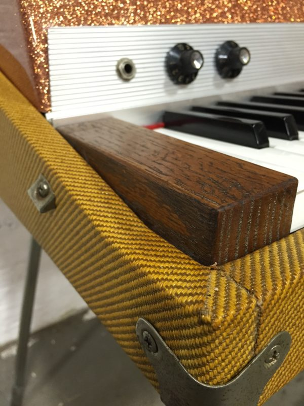 Custom Tweed Rhodes with Sparkle Top