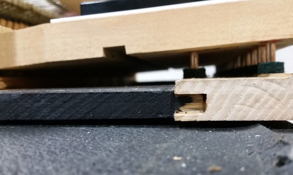 Mortise and Tenon Key Bed