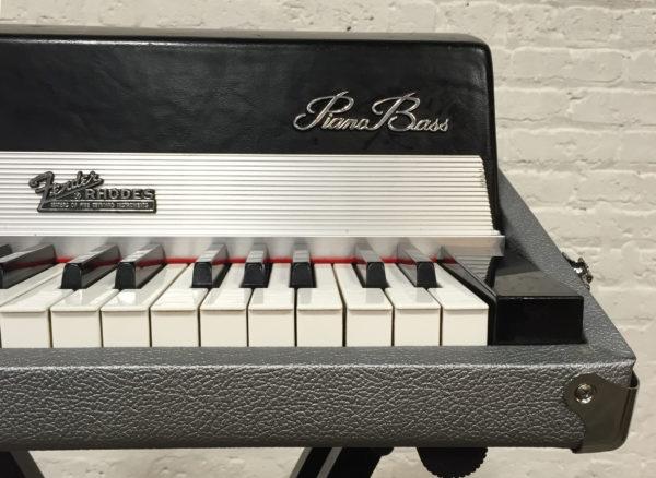 Piano Bass Closeup