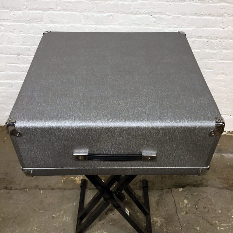 Rhodes Piano Bass Top Case Silver
