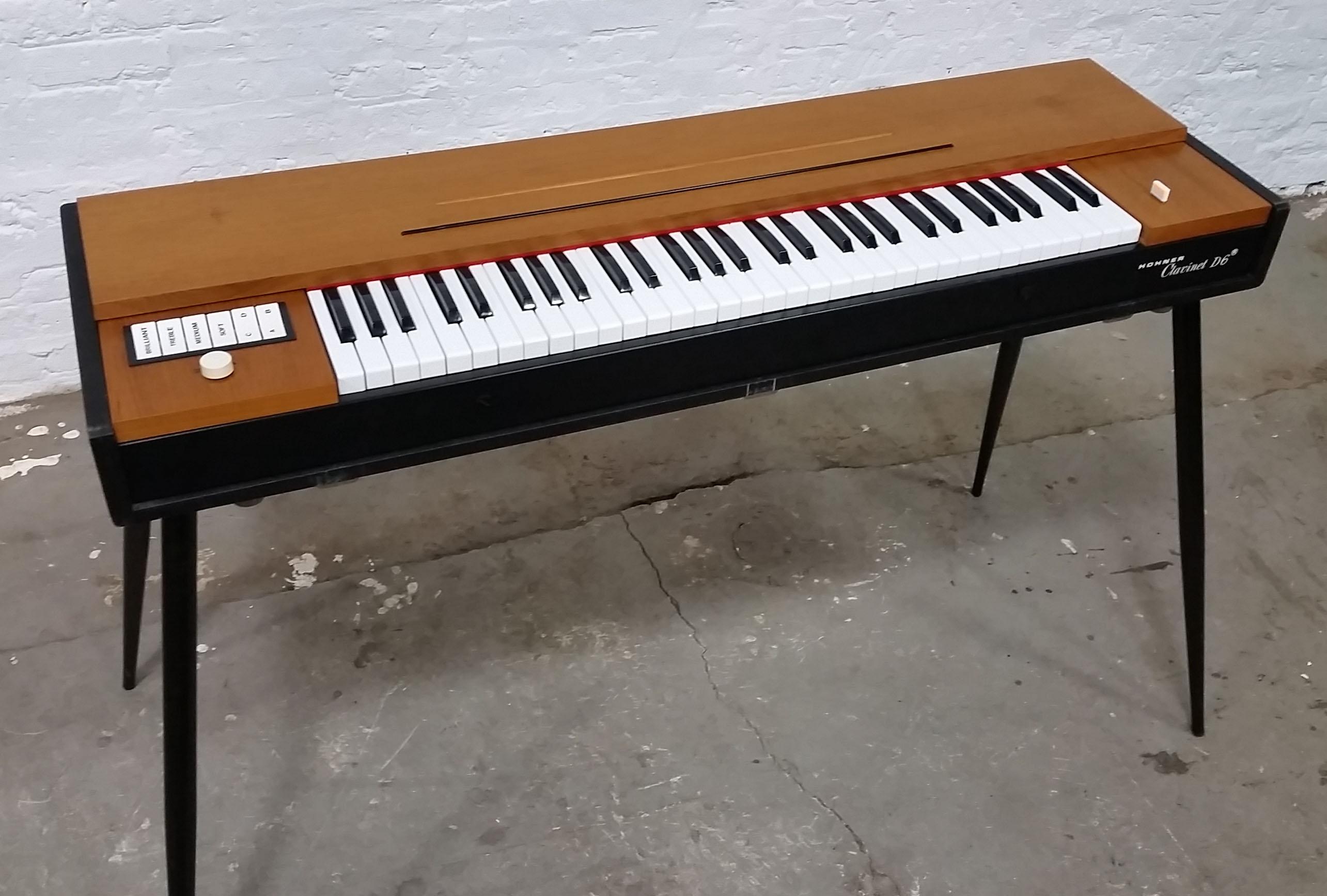hohner clavinet d6 rebirth restoration the chicago electric piano co