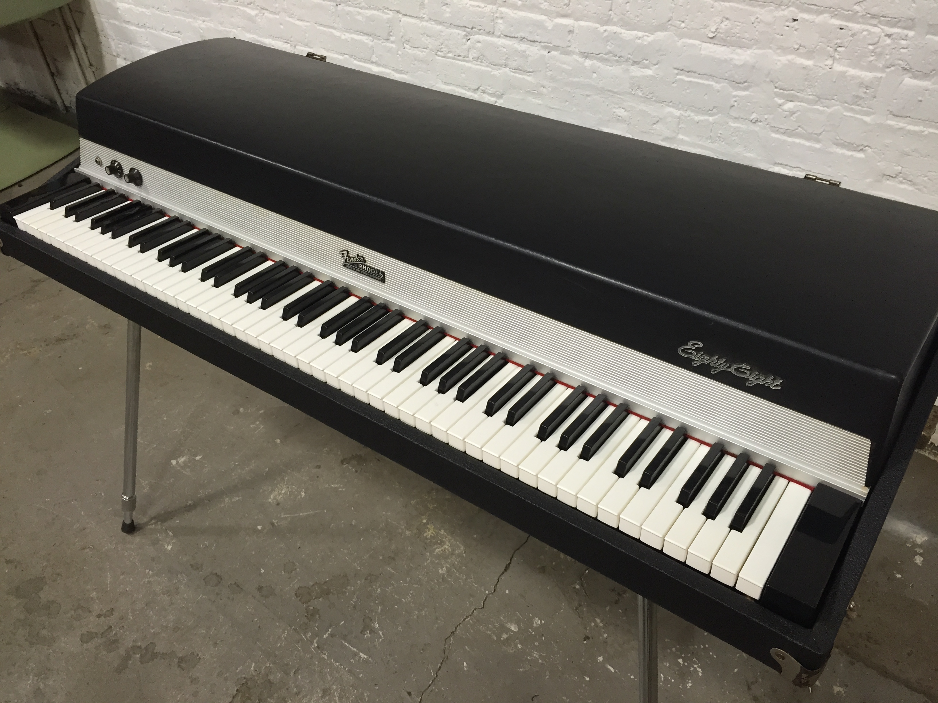 for sale 1973 fender rhodes stage 88 the chicago electric piano co. Black Bedroom Furniture Sets. Home Design Ideas