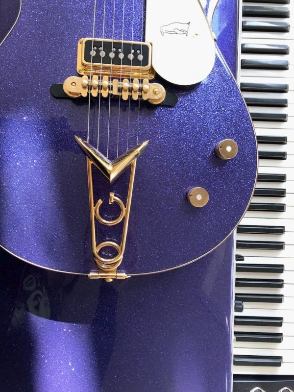 Grape Sparkle with Gretsch