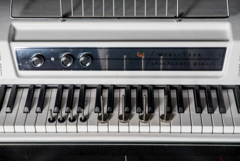 Along with a full restoration of this instrument this Wurlitzer was upgraded with a Warneck Research EP200 Variable Vibrato Amplifier, Weber alnico Speakers ...